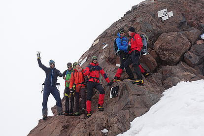 Vorbereitungstouren für den Gipfeltag Mount Elbrus