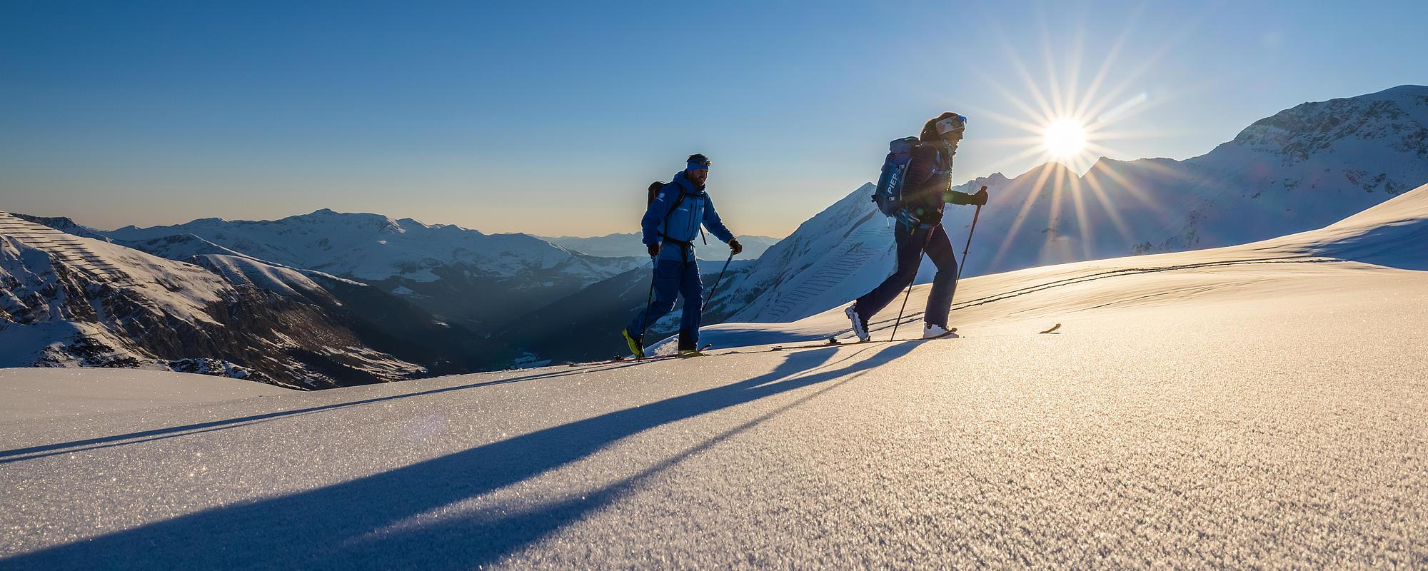 Sunrise Skitour in den Tuxer Alpen