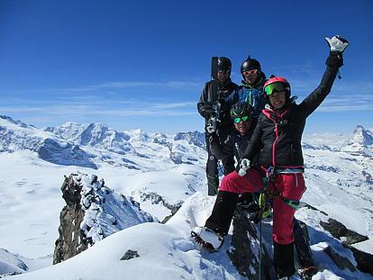 Schweizer Gipfelsieg