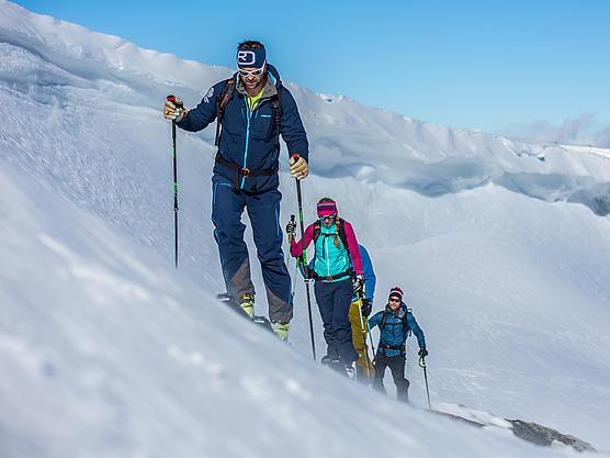 Einsame Skitouren in den Zillertaler Alpen