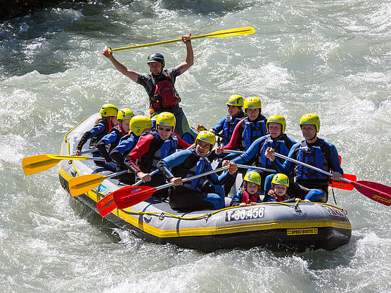 Rafting Spass am Ziller