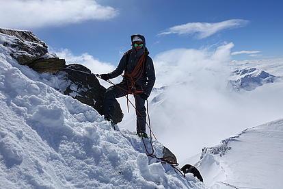 Gratkletterei in den Ötztaler Alpen