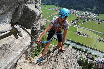 Klettersteig Pfeilspitzwand