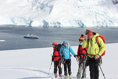 Skitouren in der Antaktis