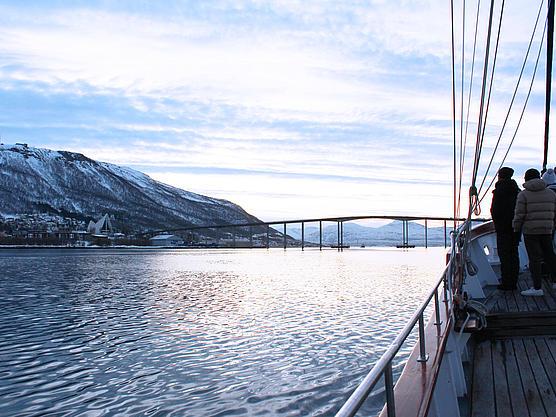 Unser Schiff in Norwegen