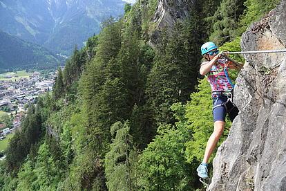 Klettersteig Pfeilspitzwand Quergang