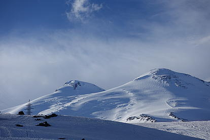 Gipfel des Mount Elbrus