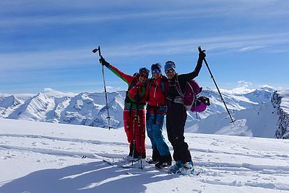 Geführte Skitouren in den Tuxer Alpen