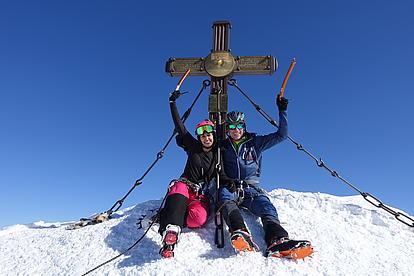 Gipfelglück am Großglockner