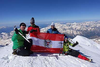 Österreichischer Gipfelsieg am Mount Elbrus