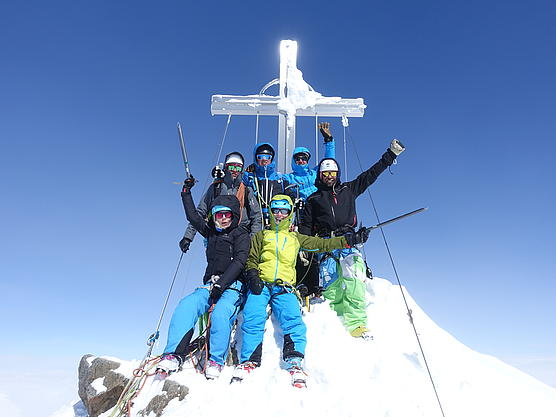 Gipfelsieg Wildspitze