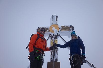 Gipfelsieg am Großglockner