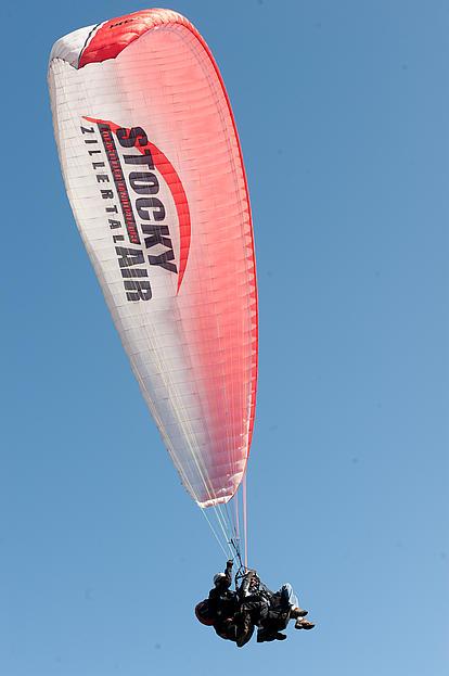 Tandemfliegen mit Stocky Air