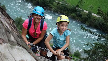 Familienklettersteig in Mayrhofen