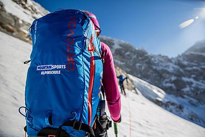 Ausrüstung von der Alpinschule Mountain Sports