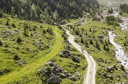 Geführte Biketour, Trails